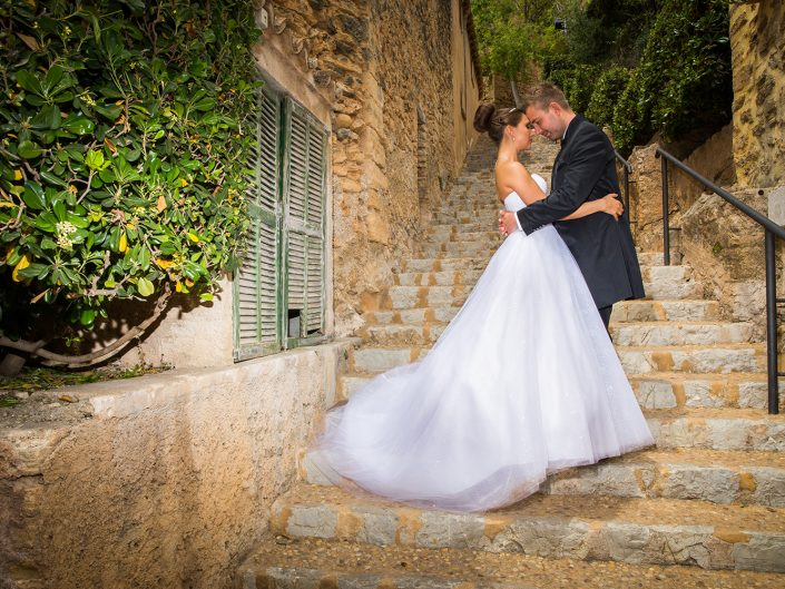 After Wedding Shooting auf Mallorca